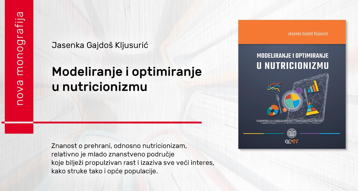 Modeliranje i optimiranje u nutricionizmu